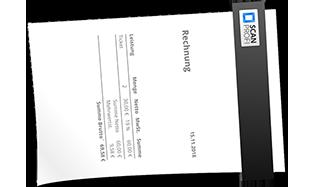 Rechnungen scannen und digitalisieren