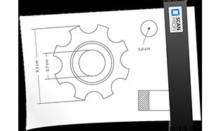 Zeichnungen scannen und digitalisieren